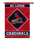 "St. Louis Cardinals House Banner 28"" x 40"" 1- Sided"