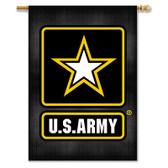 """U.S. Army 2-Sided 28"""" X 40"""" Banner W/ Pole Sleeve"""
