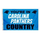 Carolina Panthers 3 Ft. X 5 Ft. Flag W/Grommets