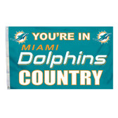 Miami Dolphins 3 Ft. X 5 Ft. Flag W/Grommets