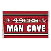 San Francisco 49er's Man Cave 3 x 5 Flag w/ 4 Grommets