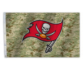 Tampa Bay Buccaneers 3 Ft. X 5 Ft. Flag W/Grommets - Camo Design
