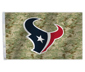 Houston Texans 3 Ft. X 5 Ft. Flag W/Grommets - Camo Design