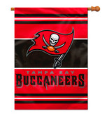 Tampa Bay Buccaneers 2-Sided 28 X 40 House Banner