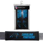 Carolina Panthers Seat Belt Pad 2 Pack