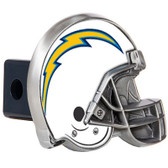 Los Angeles Chargers Helmet Trailer Hitch Cover