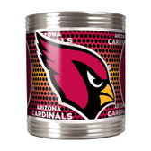 Arizona Cardinals Stainless Steel Can Holder with Metallic Graphics