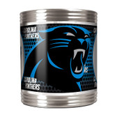 Carolina Panthers Stainless Steel Can Holder with Metallic Graphics