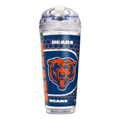 Chicago Bears 24 Oz. Acrylic Tumbler w/ Straw