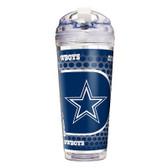 Dallas Cowboys 24 Oz. Acrylic Tumbler w/ Straw