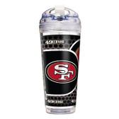 San Francisco 49er's 24 Oz. Acrylic Tumbler w/ Straw