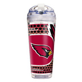 Arizona Cardinals 24 Oz. Acrylic Tumbler w/ Straw