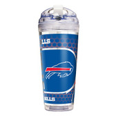 Buffalo Bills 24 Oz. Acrylic Tumbler w/ Straw