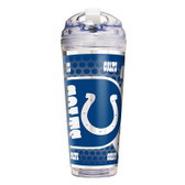 Indianapolis Colts 24 Oz. Acrylic Tumbler w/ Straw