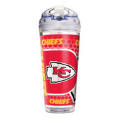 Kansas City Chiefs 24 Oz. Acrylic Tumbler w/ Straw