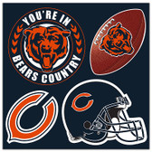 Chicago Bears 4 Piece Magnet Set