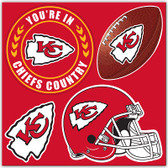 Kansas City Chiefs 4 Piece Magnet Set