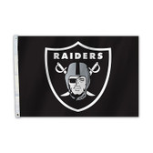 Oakland Raiders 2 Ft. X 3 Ft. Flag W/Grommets