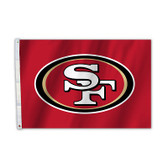 San Francisco 49er's 2 Ft. X 3 Ft. Flag W/Grommets