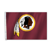 Washington Redskins 2 Ft. X 3 Ft. Flag W/Grommets
