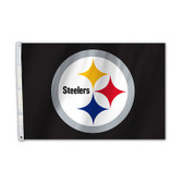 Pittsburgh Steelers 2 Ft. X 3 Ft. Flag W/Grommets