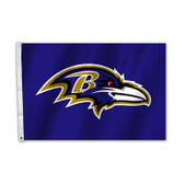 Baltimore Ravens 2 Ft. X 3 Ft. Flag W/Grommets