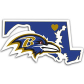 Baltimore Ravens Home State Decal