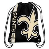 New Orleans Saints Drawstring Backpack
