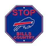 Buffalo Bills Plastic Stop Sign