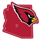 "Arizona Cardinals Home State 10"" Vinyl Magnet"