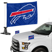 "Buffalo Bills Ambassador 4"" x 6"" Car Flag Set of 2"