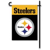 """Pittsburgh Steelers Home / Yard Flag 13"""" x 18"""" 2-Sided"""