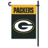 "Green Bay Packers Home / Yard Flag 13"" x 18"" 2-Sided"