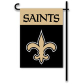 """New Orleans Saints Home / Yard Flag 13"""" x 18"""" 2-Sided"""