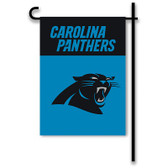 "Carolina Panthers Home / Yard Flag 13"" x 18"" 2-Sided"