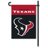 "Houston Texans Home / Yard Flag 13"" x 18"" 2-Sided"