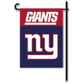 "New York Giants Home / Yard Flag 13"" x 18"" 2-Sided"