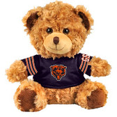 "Chicago Bears 10"" Plush Teddy Bear w/ Jersey"