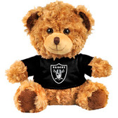 "Oakland Raiders 10"" Plush Teddy Bear w/ Jersey"