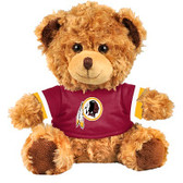 "Washington Redskins 10"" Plush Teddy Bear w/ Jersey"