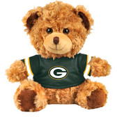 "Green Bay Packers 10"" Plush Teddy Bear w/ Jersey"
