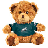 "Philadelphia Eagles 10"" Plush Teddy Bear w/ Jersey"