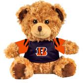 "Cincinnati Bengals 10"" Plush Teddy Bear w/ Jersey"