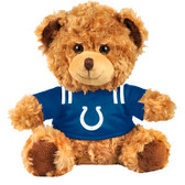 "Indianapolis Colts 10"" Plush Teddy Bear w/ Jersey"