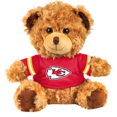 "Kansas City Chiefs 10"" Plush Teddy Bear w/ Jersey"