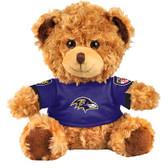 """Baltimore Ravens 10"""" Plush Teddy Bear w/ Jersey"""