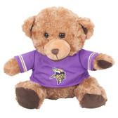 "Minnesota Vikings 10"" Plush Teddy Bear w/ Jersey"