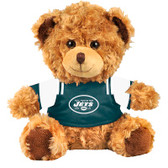 "New York Jets 10"" Plush Teddy Bear w/ Jersey"