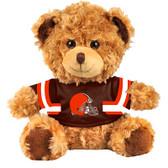 "Cleveland Browns 10"" Plush Teddy Bear w/ Jersey"