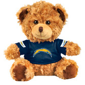 "Los Angeles Chargers 10"" Plush Teddy Bear w/ Jersey"